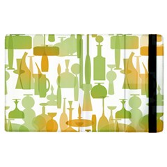 Angerine Blenko Glass Apple iPad 2 Flip Case