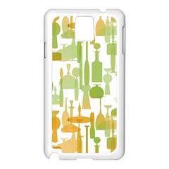 Angerine Blenko Glass Samsung Galaxy Note 3 N9005 Case (White)