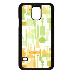 Angerine Blenko Glass Samsung Galaxy S5 Case (Black)