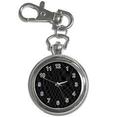 Pattern Dark Texture Background Key Chain Watches