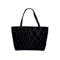 Pattern Dark Texture Background Shoulder Handbags