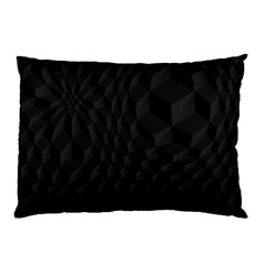 Pattern Dark Texture Background Pillow Case (Two Sides)