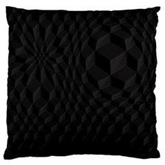 Pattern Dark Texture Background Large Cushion Case (Two Sides)