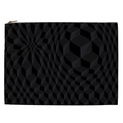 Pattern Dark Texture Background Cosmetic Bag (XXL)