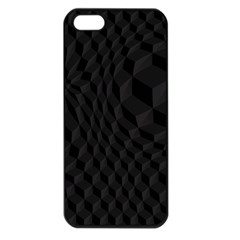 Pattern Dark Texture Background Apple iPhone 5 Seamless Case (Black)