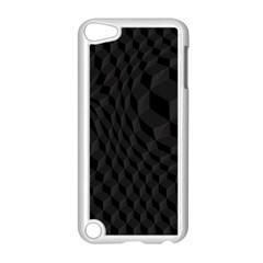 Pattern Dark Texture Background Apple iPod Touch 5 Case (White)