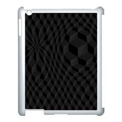 Pattern Dark Texture Background Apple iPad 3/4 Case (White)