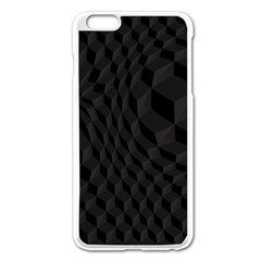 Pattern Dark Texture Background Apple iPhone 6 Plus/6S Plus Enamel White Case