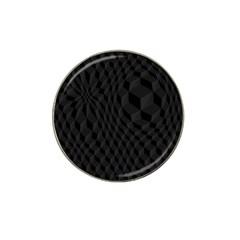 Pattern Dark Texture Background Hat Clip Ball Marker (10 pack)