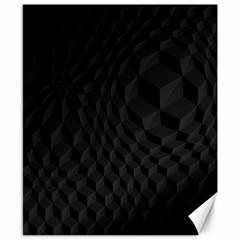 Pattern Dark Texture Background Canvas 8  X 10