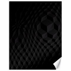 Pattern Dark Texture Background Canvas 18  X 24