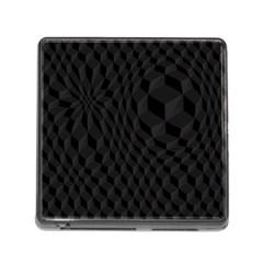 Pattern Dark Texture Background Memory Card Reader (Square)