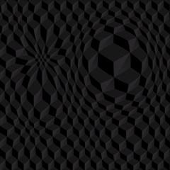 Pattern Dark Texture Background Magic Photo Cubes