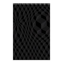 Pattern Dark Texture Background Shower Curtain 48  X 72  (small)