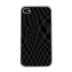 Pattern Dark Texture Background Apple iPhone 4 Case (Clear)