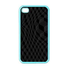 Pattern Dark Texture Background Apple iPhone 4 Case (Color)