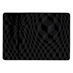 Pattern Dark Texture Background Samsung Galaxy Tab 10.1  P7500 Flip Case