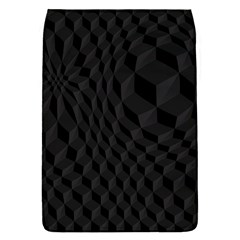 Pattern Dark Texture Background Flap Covers (S)