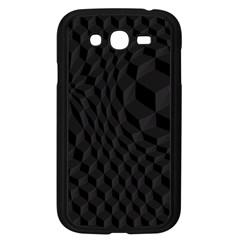 Pattern Dark Texture Background Samsung Galaxy Grand DUOS I9082 Case (Black)