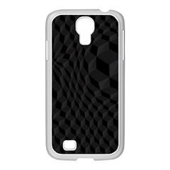 Pattern Dark Texture Background Samsung Galaxy S4 I9500/ I9505 Case (white)