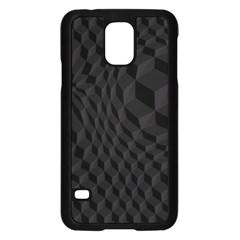 Pattern Dark Texture Background Samsung Galaxy S5 Case (black)
