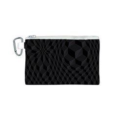 Pattern Dark Texture Background Canvas Cosmetic Bag (S)
