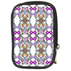 Floral Ornament Baby Girl Design Compact Camera Cases