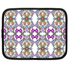 Floral Ornament Baby Girl Design Netbook Case (xxl)