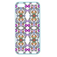 Floral Ornament Baby Girl Design Apple Seamless iPhone 5 Case (Color)
