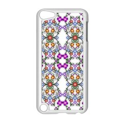 Floral Ornament Baby Girl Design Apple Ipod Touch 5 Case (white)