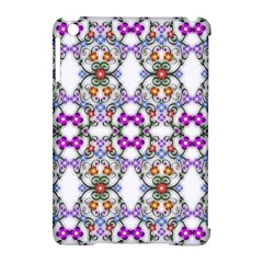 Floral Ornament Baby Girl Design Apple Ipad Mini Hardshell Case (compatible With Smart Cover)