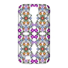 Floral Ornament Baby Girl Design Samsung Galaxy S4 Classic Hardshell Case (PC+Silicone)