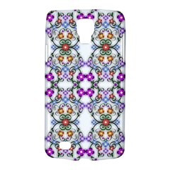 Floral Ornament Baby Girl Design Galaxy S4 Active