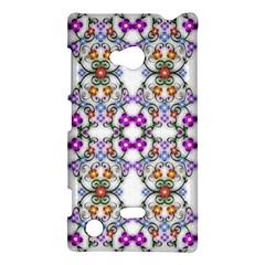 Floral Ornament Baby Girl Design Nokia Lumia 720