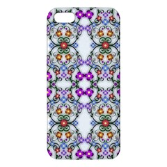 Floral Ornament Baby Girl Design Iphone 5s/ Se Premium Hardshell Case