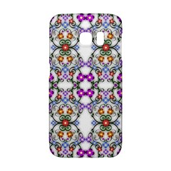 Floral Ornament Baby Girl Design Galaxy S6 Edge