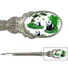 Cute Panda Cartoon Letter Openers