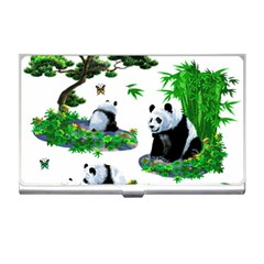 Cute Panda Cartoon Business Card Holders