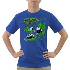 Cute Panda Cartoon Dark T-Shirt