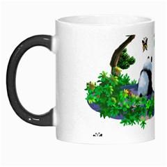 Cute Panda Cartoon Morph Mugs