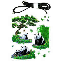 Cute Panda Cartoon Shoulder Sling Bags