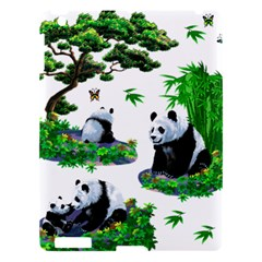 Cute Panda Cartoon Apple Ipad 3/4 Hardshell Case