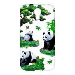 Cute Panda Cartoon Samsung Galaxy S4 I9500/i9505 Hardshell Case