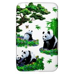 Cute Panda Cartoon Samsung Galaxy Tab 3 (8 ) T3100 Hardshell Case