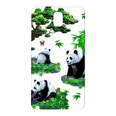 Cute Panda Cartoon Samsung Galaxy Note 3 N9005 Hardshell Back Case