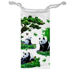 Cute Panda Cartoon Jewelry Bag