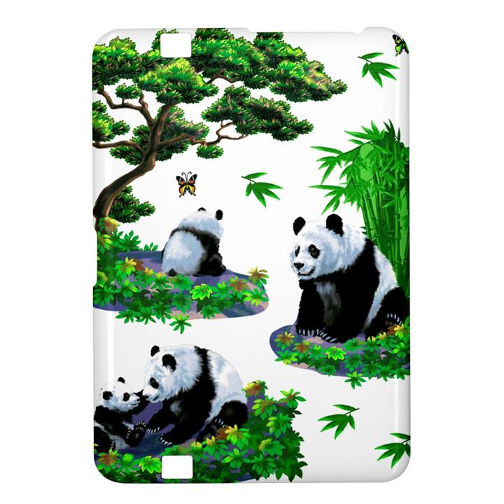 Cute Panda Cartoon Kindle Fire HD 8.9
