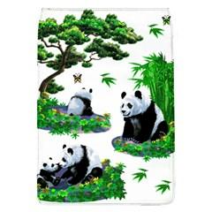 Cute Panda Cartoon Flap Covers (L)