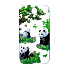 Cute Panda Cartoon Samsung Galaxy S4 I9500/I9505  Hardshell Back Case