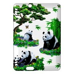 Cute Panda Cartoon Kindle Fire Hdx Hardshell Case